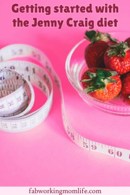 getting started with the jenny craig diet