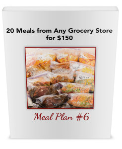 20 meals any store