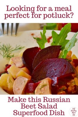 Perfect for Potluck Russian Beet Salad