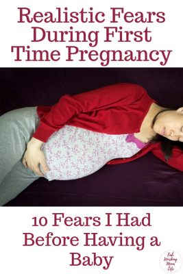 Are you a first time expecting mom? Do you have pregnancy anxiety? I did too! Here are 10 Fears I Had Before Having a Baby   Fab Working Mom Life #motherhood #momlife #pregnancy #baby #anxiety