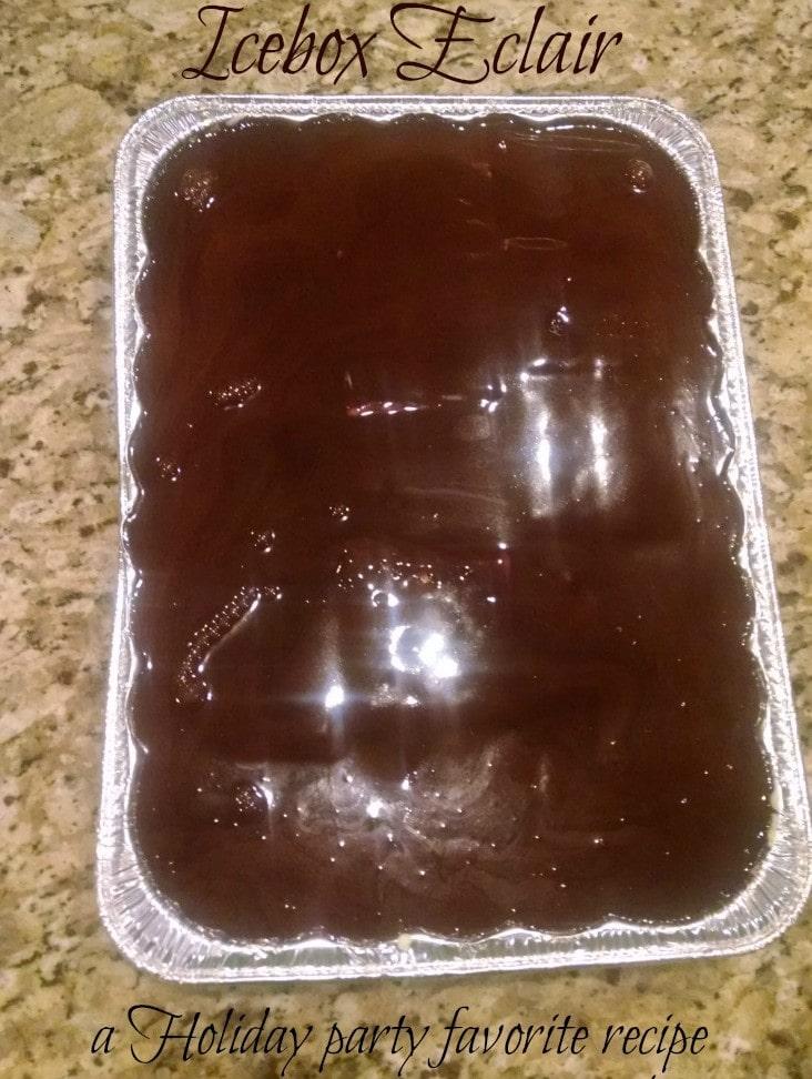 Icebox Eclair Dessert Recipe