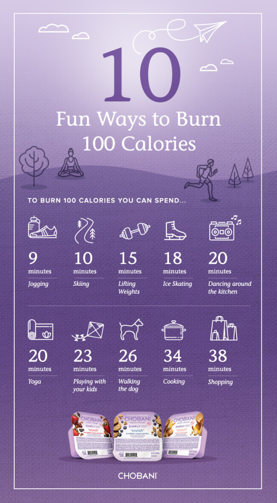 10 Ways to Burn 100 Calories