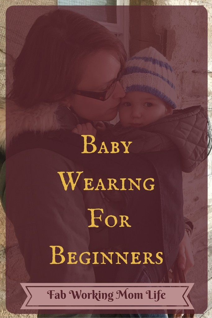 Baby Wearing For Beginners