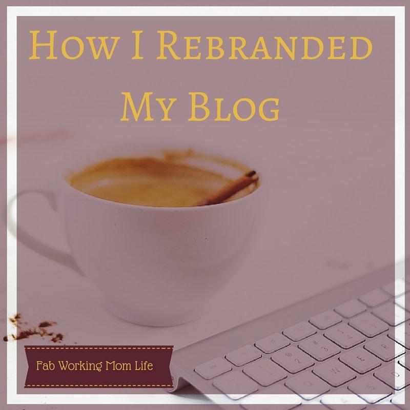 How I Rebranded My Blog