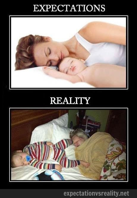 sleeping-next-to-a-baby-expectation-reality
