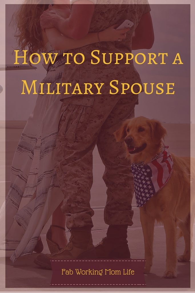 How to Support a Military Spouse