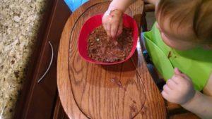 Sensory Play in Edible Dirt
