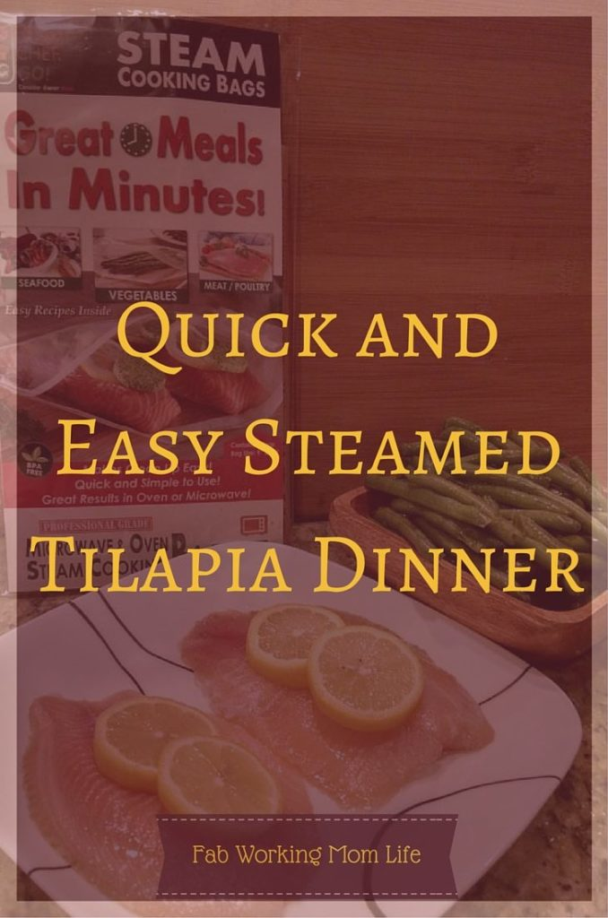 Quick and Easy Steamed Tilapia Dinner
