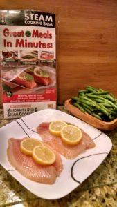 Easy Tilapia Dinner