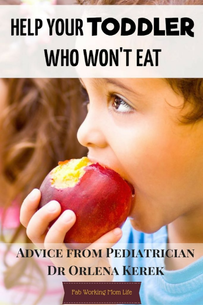 Help Your Toddler Who Wont Eat Advice from Pediatrician