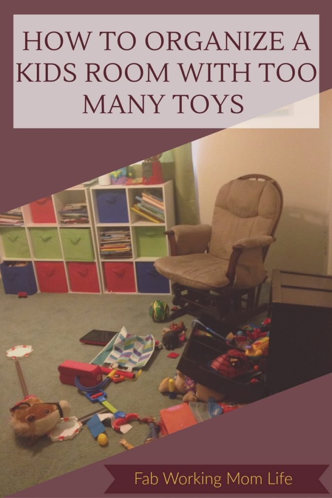 How To Organize a Kids Room With Too Many Toys