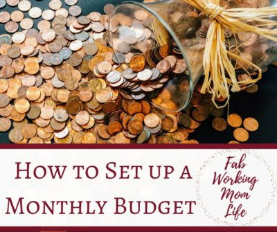 monthly budget how to and printable