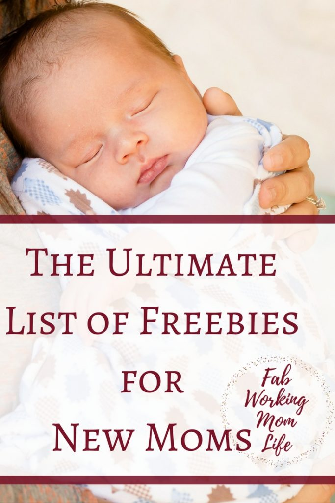The Ultimate List of Freebies for New Moms | Fab Working Mom Life #parenting #Motherhood #baby #pregnant IF you're pregnant or have a baby you'll love these freebies you can get just for being a mom!