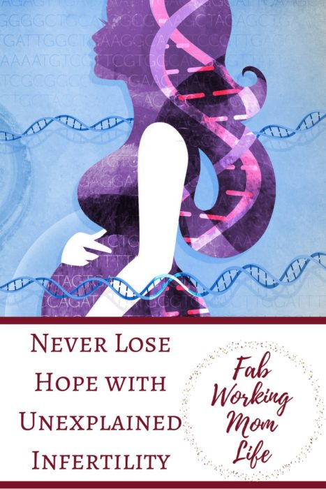 Never Lose Hope with Unexplained Infertility