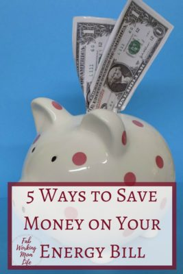 5 Ways to Save Money on Your Energy Bill