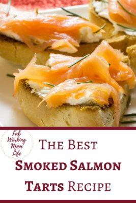 The Best Smoked Salmon Tarts Recipe