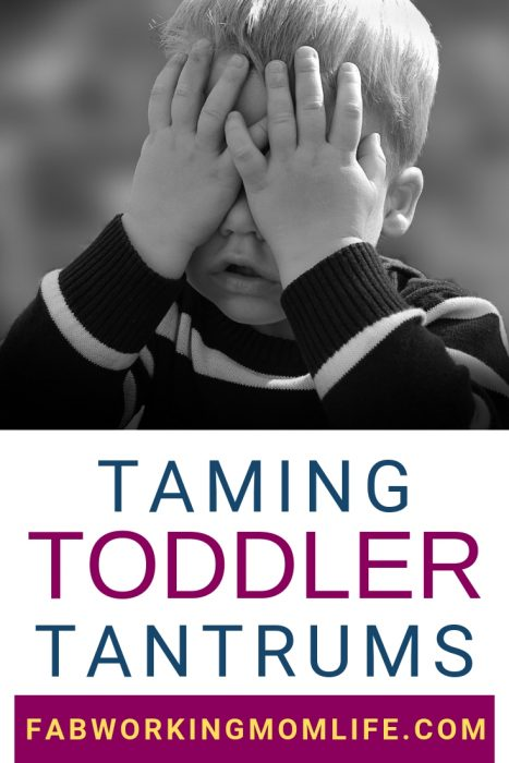 If your 2-year-old tantrums out of control, read these tips for how to deal with temper tantrums.