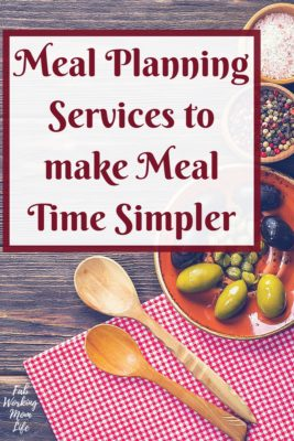 Amazing Meal Planning Services to make Meal Time Simpler