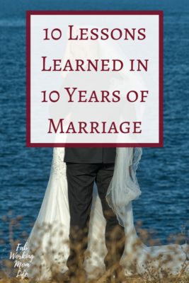 10 Lessons Learned in 10 Years of Marriage