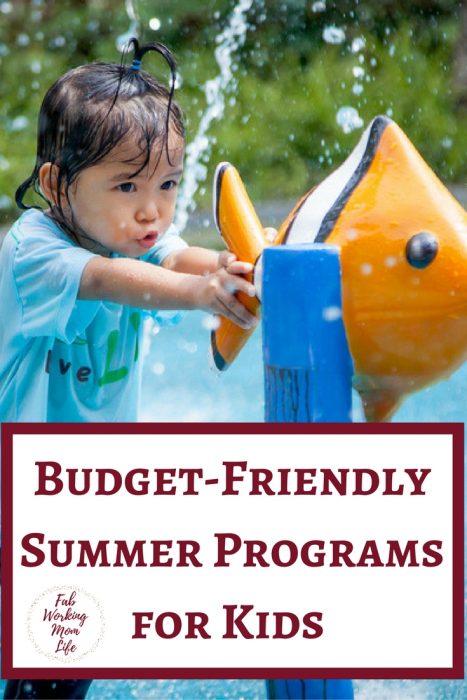 Summer Programs for Kids that Wont Break Your Budget