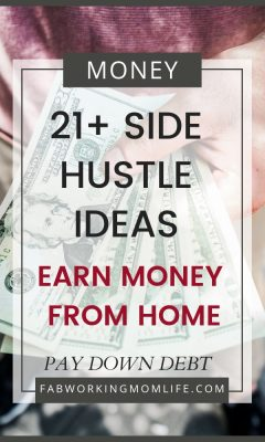 21+ Side Hustle Ideas to earn Money from Home and Pay Down Debt
