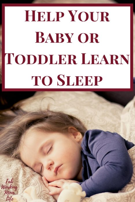 Help Your Baby or Toddler Learn to Sleep | Tips from The Baby Sleep Site