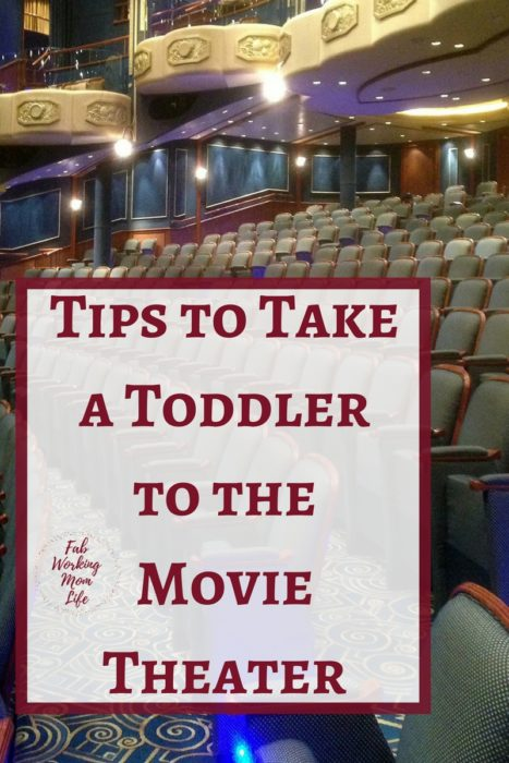 How do you plan for your first movie for a toddler? Read on for Tips to Take a toddler to the Movie Theater