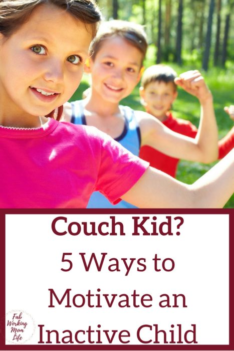 5 Ways to Motivate an Inactive Child