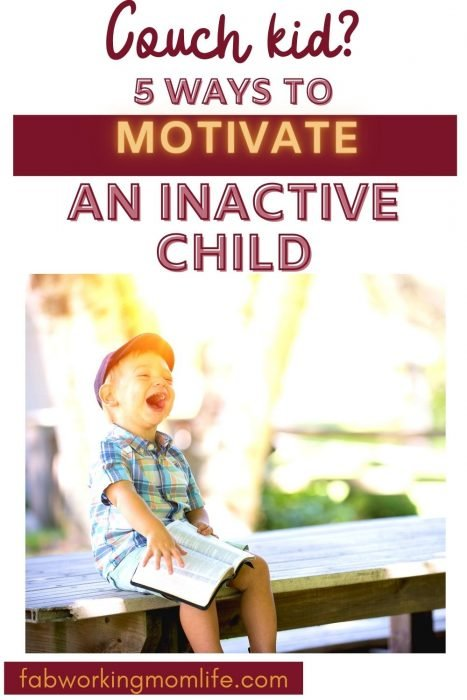 Couch Kid? Here are 5 ways to motivate an inactive child