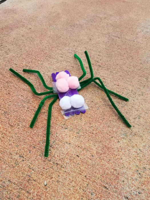 easy spider craft