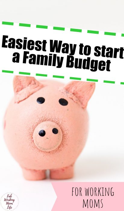 asiest Ways to Start a Family Budget