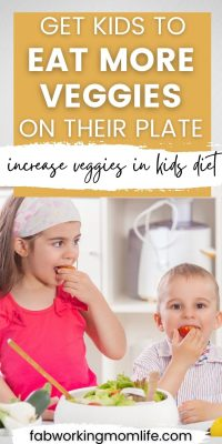 get kids to eat more veggies on their plate