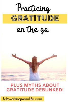practicing gratitude on the go