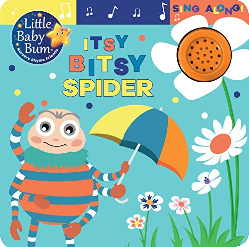 itsy bitsy spider sing-along book