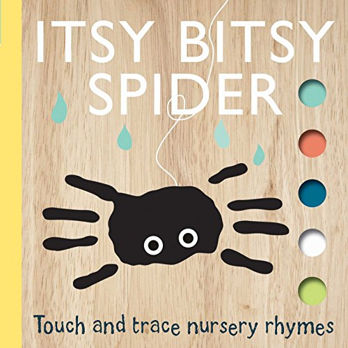 itsy bitsy spider touch and trace