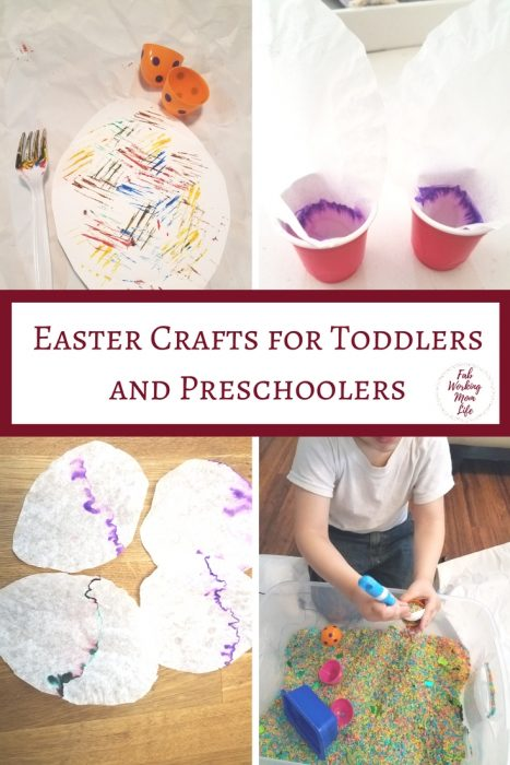 Check out these wonderful Easter crafts for preschoolers | Fab Working Mom Life | #toddlers #preschoolers #easter #eastercrafts