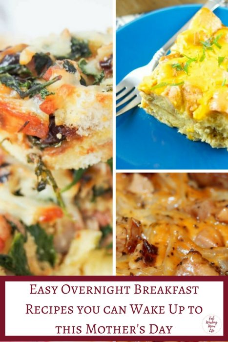 Easy Overnight Breakfast Recipes you can Wake Up to this Mother's Day | Fab Working Mom Life | #mothersday #breakfast #brunch #slowcooker | Overnight Breakfast Bake, Overnight Breakfast Casserole, Mother's day brunch