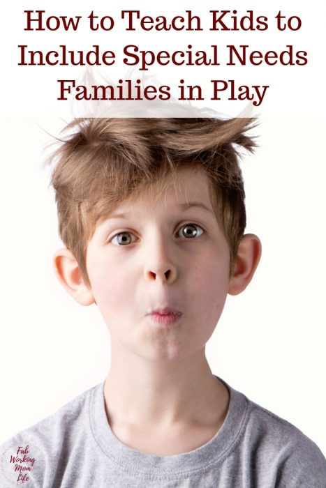 How to Teach Kids to Include Special Needs Families in Play   Fab Working Mom Life   special needs kids, autism, autistic, ASD, parenting, toddlers, children, motherhood, parenting with special needs