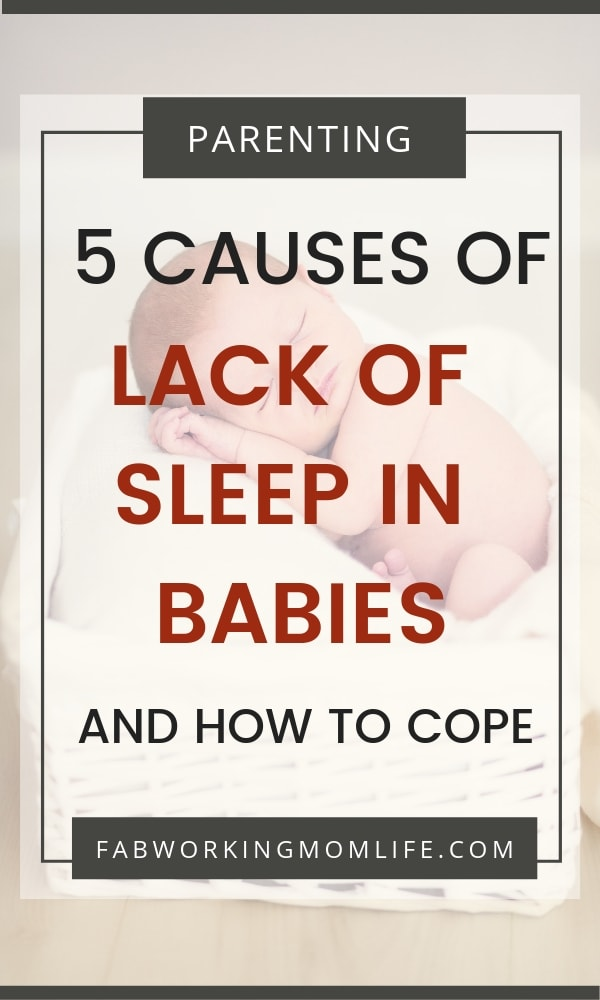 causes of lack of sleep in babies