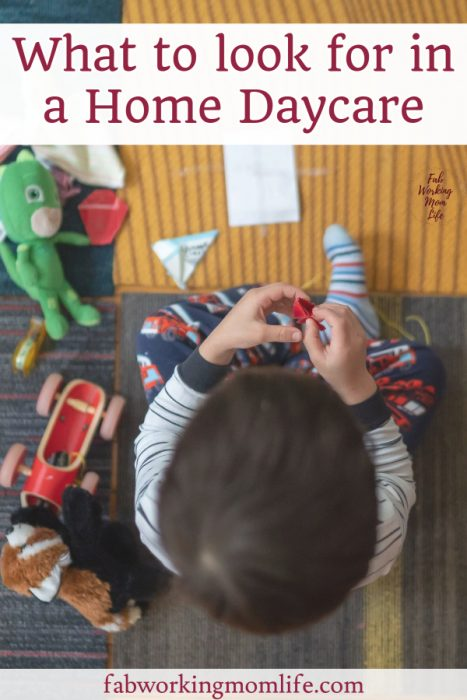 what to look for in a home daycare