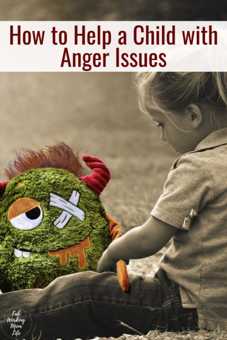 How to Help a Child with Anger Issues   Fab Working Mom Life #parenting positive parenting techniques to help children with anger or emotional control issues   how do respond to supporting child anger in a positive manner to defuse and redirect the situation?   help with anger issues