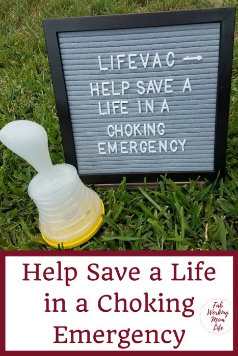 LifeVac Dangerous Foods and Choking Hazards for Children | Fab Working Mom Life | How to be prepared in the event of a choking emergency in the home #parenting #choking