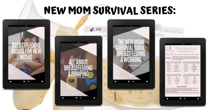 new moms survival series