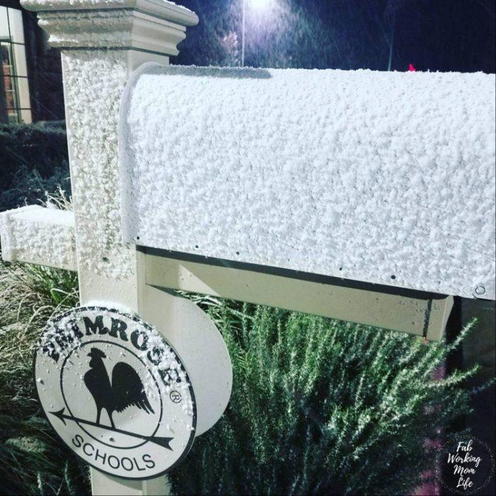 Primrose Schools the day it snowed in AUstin Texas