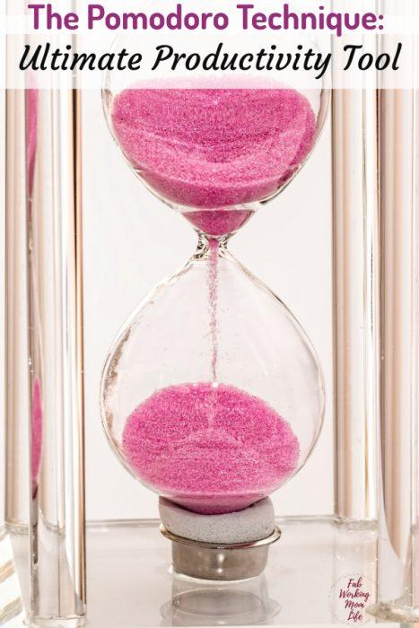 The Pomodoro Technique - The Ultimate Productivity Tool   Fab Working Mom Life #organize #productivity #workingmom #productivitytips #timemanagemen