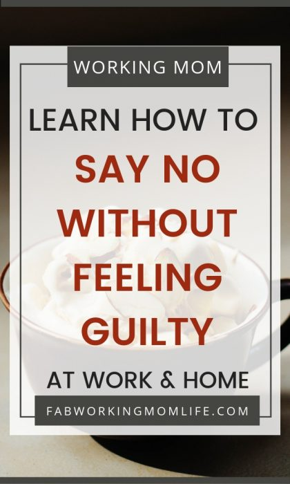 If you're thinking when I say no I feel guilty then you're not alone! But what other reasons keep us from saying no? Let's learn tips on how to say no without feeling guilty. Read on to learn how to say no at work and at home as well as how to say no to family and friends.