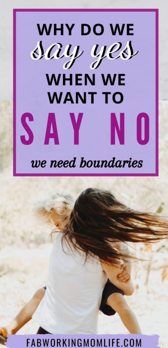 why do we say yes when we want to say no
