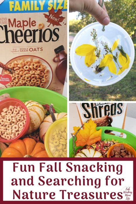 Fun Fall Snacking and Searching for Nature Treasures   Fab Working Mom Life