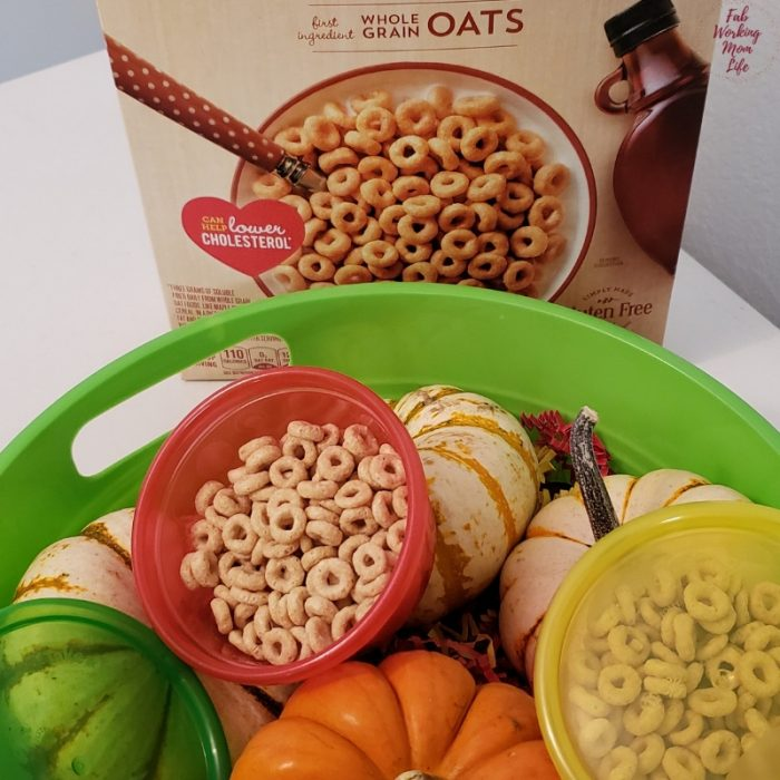 Maple Cheerios - perfect fall snacking