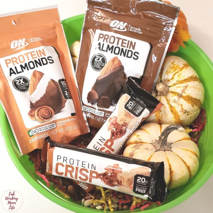 Optimum Nutrition Protein Crisp and Protein Almonds